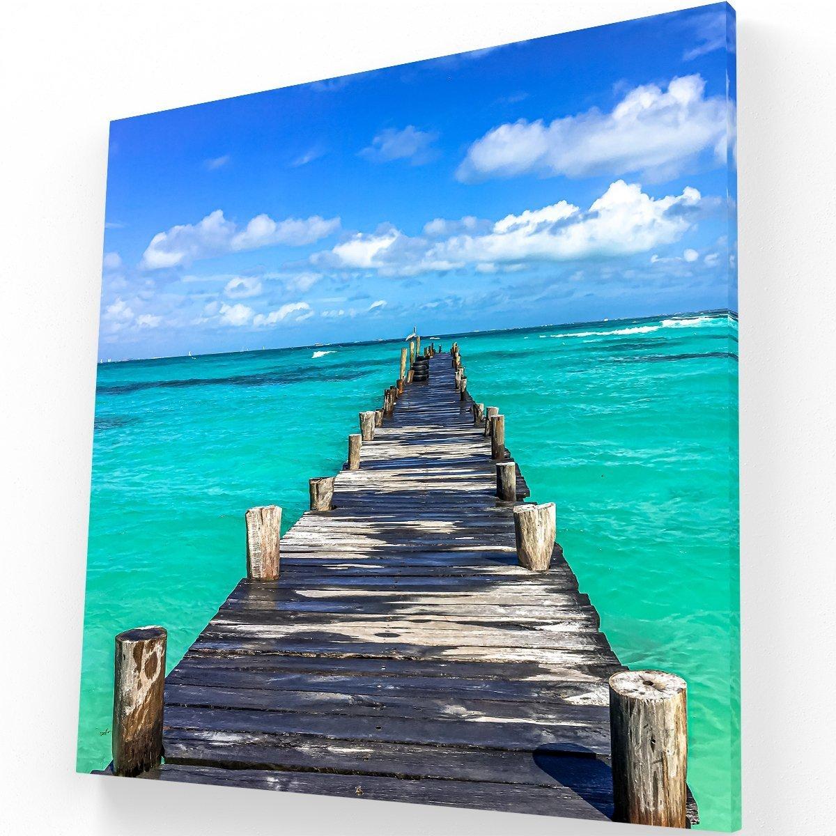 Cancún Canvas C Krea Canvas - Cuadros Decorativos Para Salas