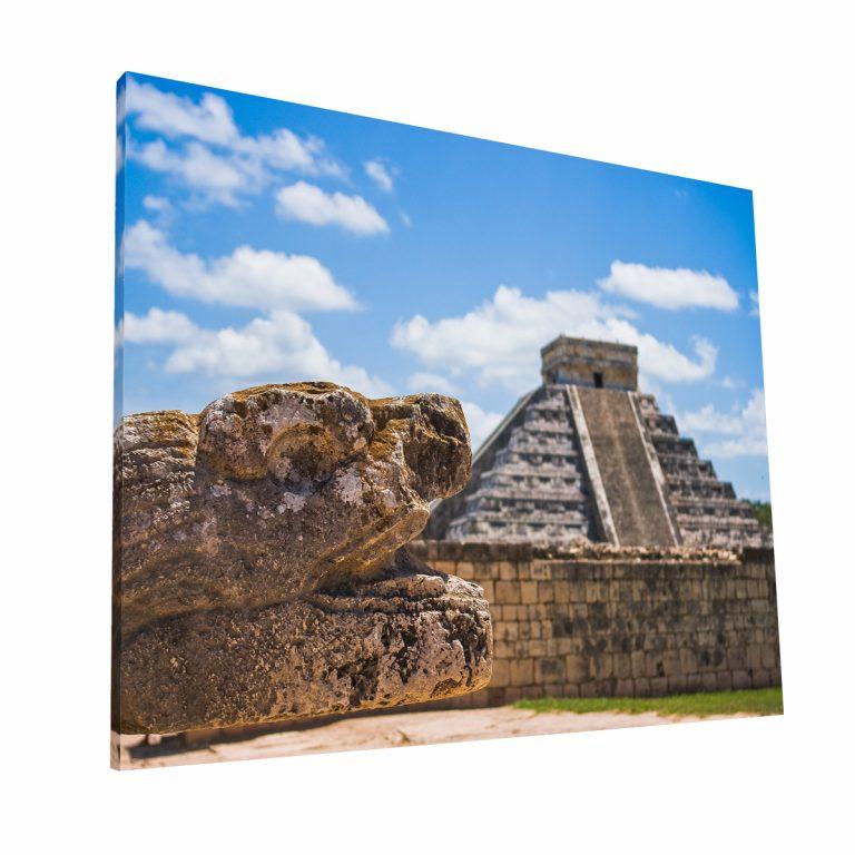 Chichen Itza Canvas H Krea Canvas - Cuadros Decorativos Para Salas