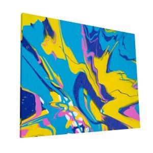 Color Explosion Canvas H Krea Canvas - Cuadros Decorativos Para Salas