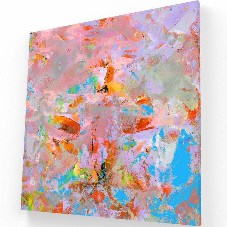 Colores Pastel Canvas C Krea Canvas - Cuadros Decorativos Para Salas
