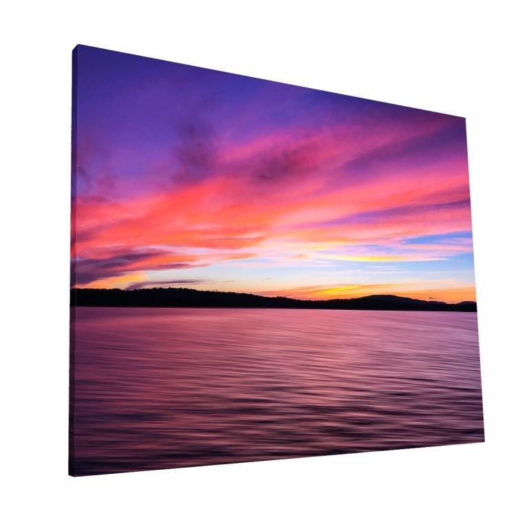 Colores de Atardecer Canvas H Krea Canvas - Cuadros Decorativos Para Salas