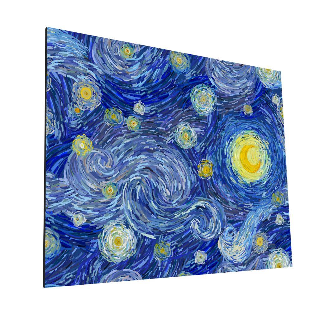 El Clelo de Van Gogh MDF H Krea Canvas - Cuadros Decorativos Para Salas