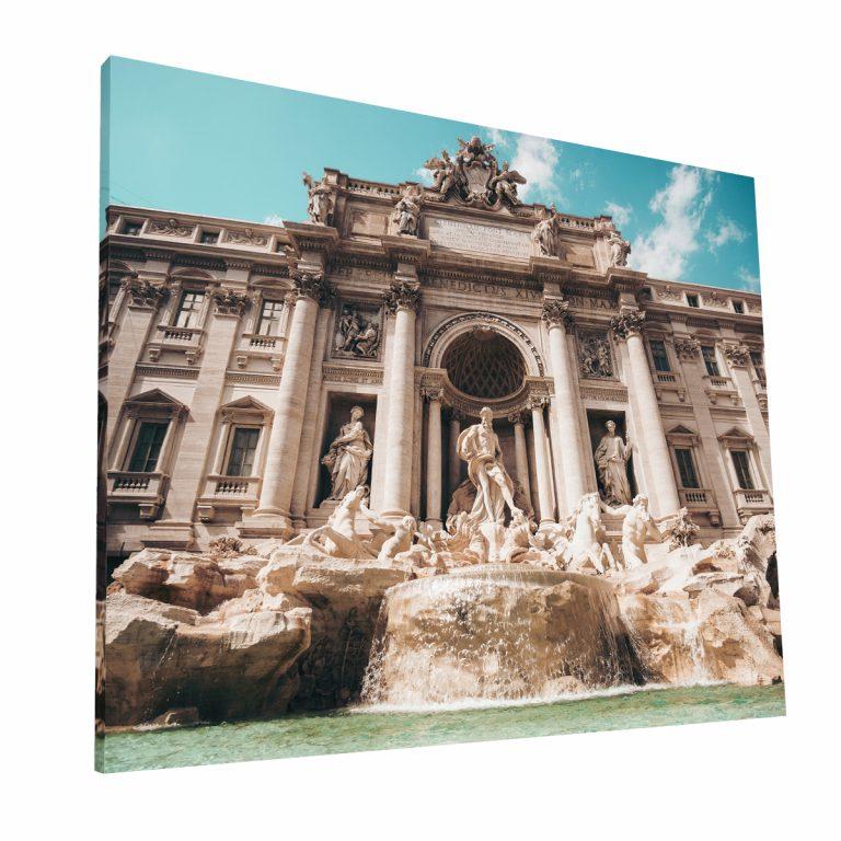 Fontana Di Trevi Canvas H 2 Krea Canvas - Cuadros Decorativos Para Salas