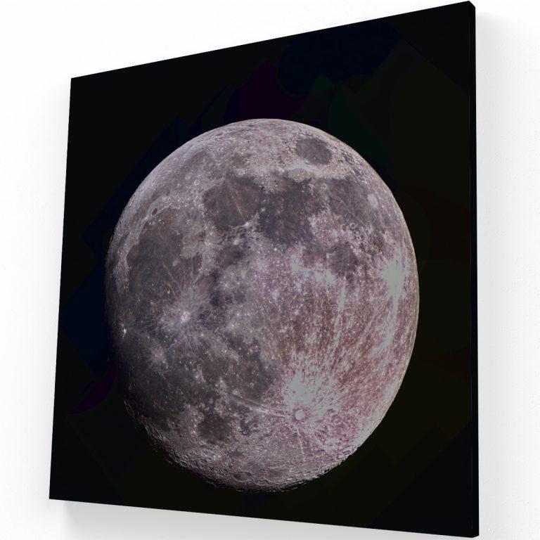 La Luna Canvas C Krea Canvas - Cuadros Decorativos Para Salas