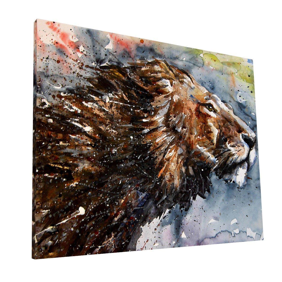 León Canvas 1 Krea Canvas - Cuadros Decorativos Para Salas