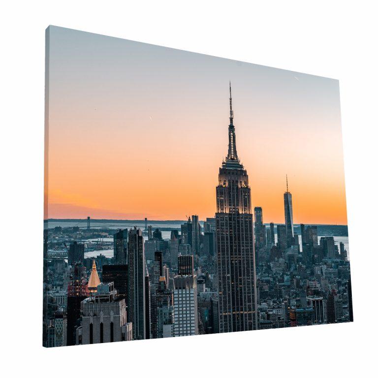 NYC Skyline Canvas 2 Krea Canvas - Cuadros Decorativos Para Salas