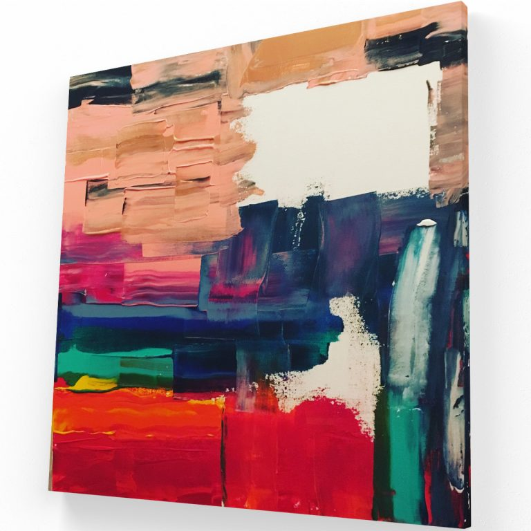 Óleo Libre Canvas C Krea Canvas - Cuadros Decorativos Para Salas