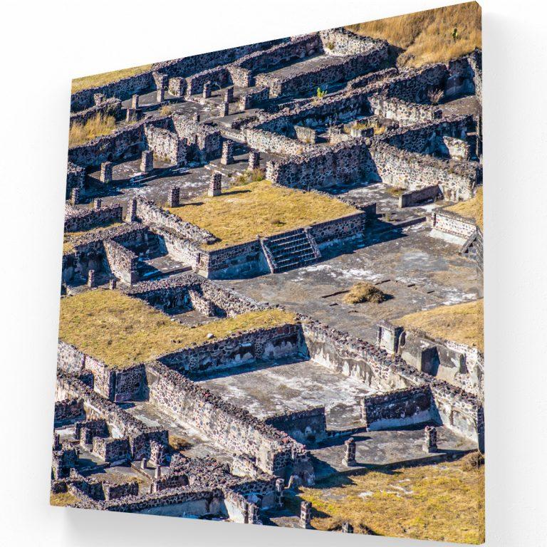 Teotihuacan Canvas C Krea Canvas - Cuadros Decorativos Para Salas