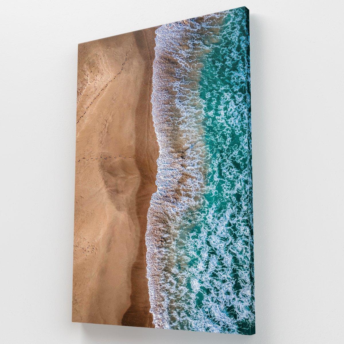 Wave Crash Canvas Krea Canvas - Cuadros Decorativos Para Salas