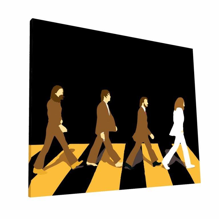 Abbey Road Canvas H Krea Canvas - Cuadros Decorativos Para Salas