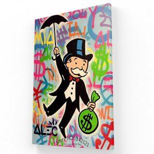 Alec Monopoly Canvas 1 Krea Canvas - Cuadros Decorativos Para Salas