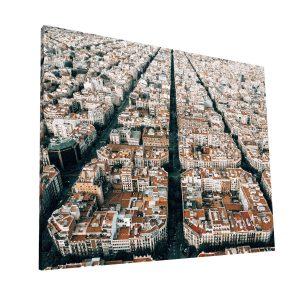 Calles de Barcelona Canvas H Krea Canvas - Cuadros Decorativos Para Salas