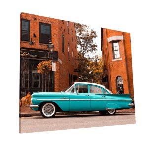 Carro Vintage Canvas H Krea Canvas - Cuadros Decorativos Para Salas