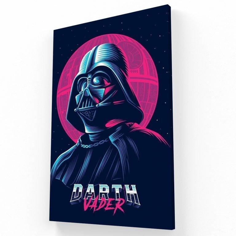 Darth Vader Canvas V Krea Canvas - Cuadros Decorativos Para Salas
