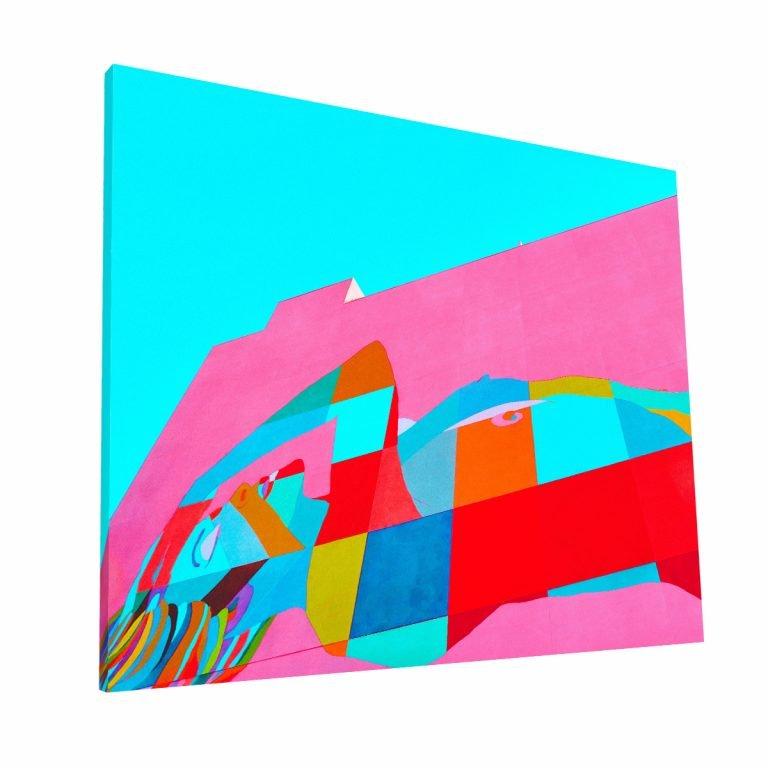 Downtown Los Angeles Canvas Krea Canvas - Cuadros Decorativos Para Salas