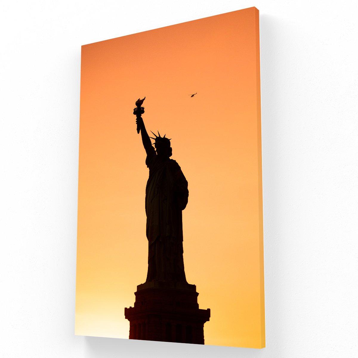 Estatua de la Libertad New York Canvas V Krea Canvas - Cuadros Decorativos Para Salas