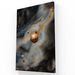 Gold Canvas V Krea Canvas - Cuadros Decorativos Para Salas