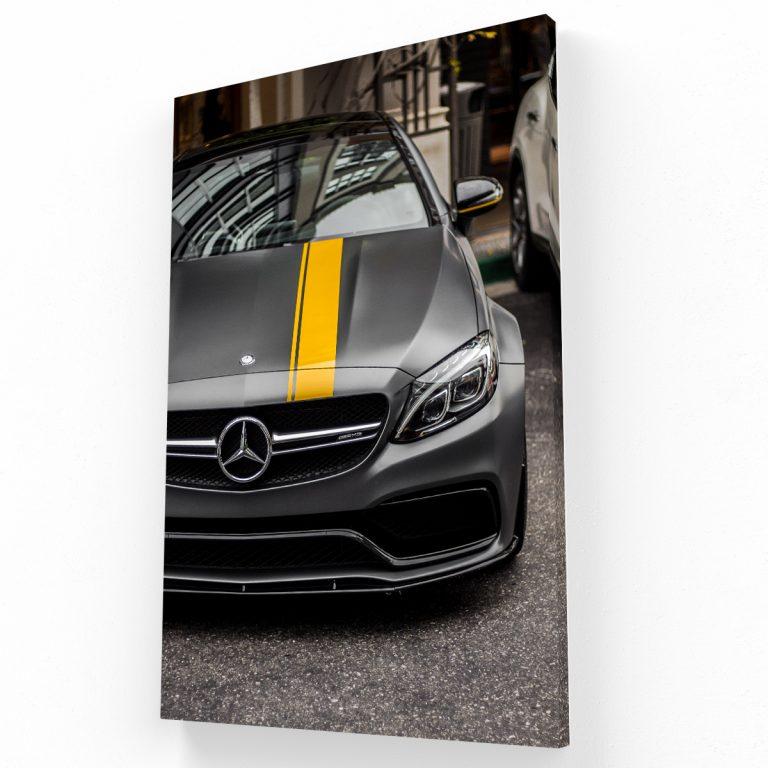Mercedes Benz Canvas V Krea Canvas - Cuadros Decorativos Para Salas