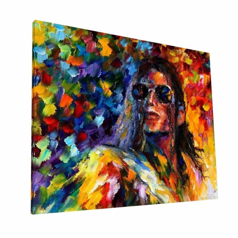 Michael Jackson Canvas H Krea Canvas - Cuadros Decorativos Para Salas