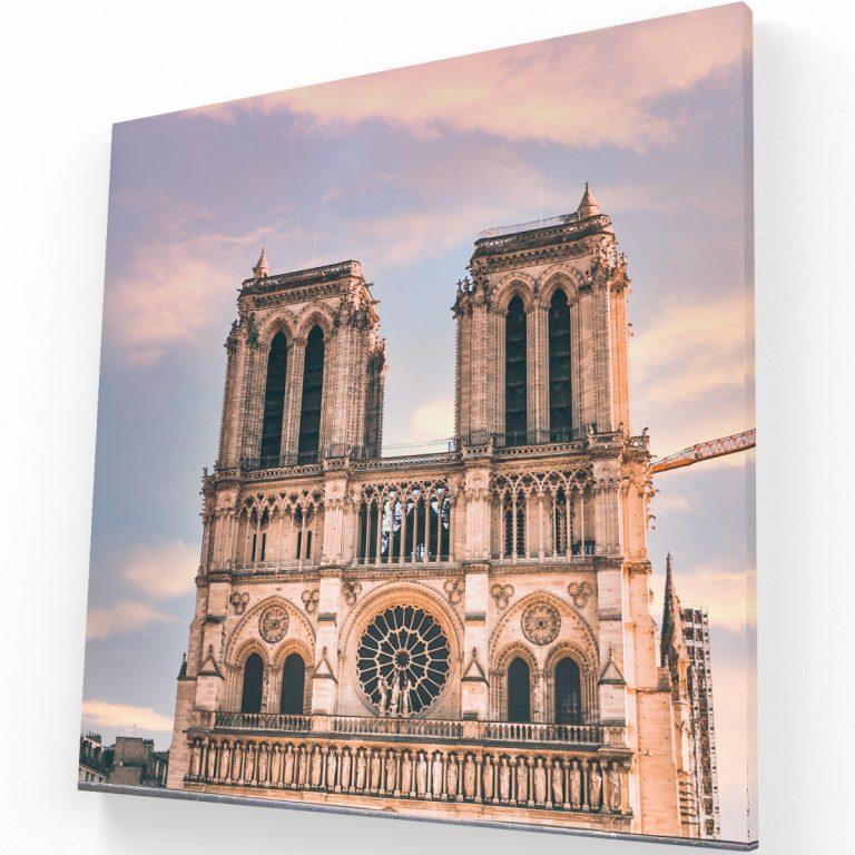 Notre Dame París Canvas Krea Canvas - Cuadros Decorativos Para Salas