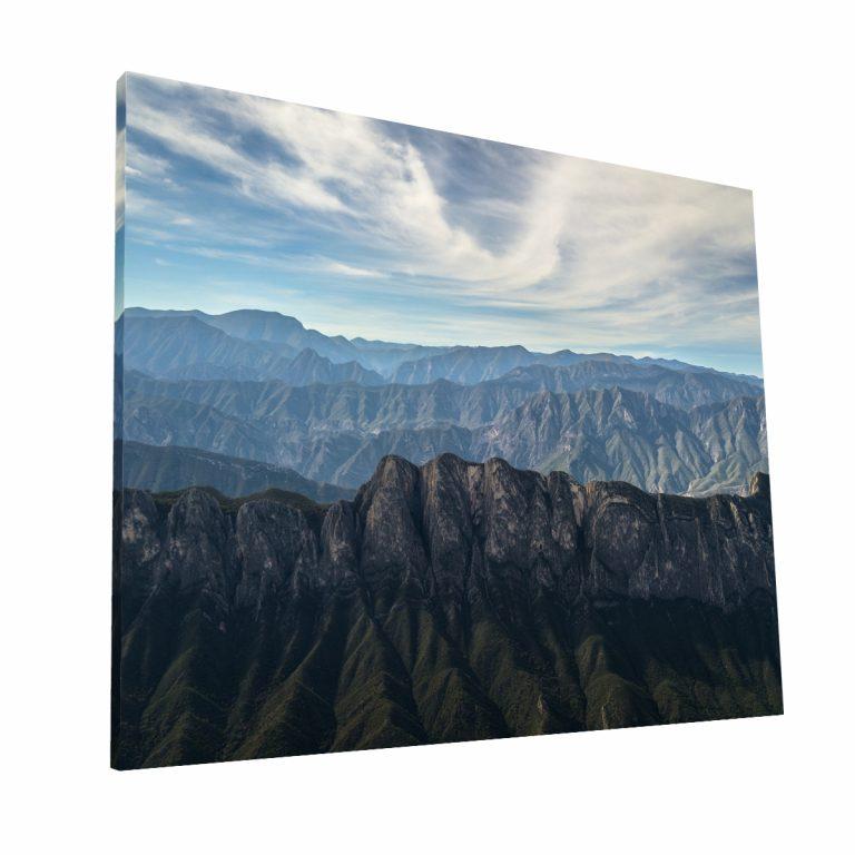 Sierra Madre Oriental Canvas H Krea Canvas - Cuadros Decorativos Para Salas