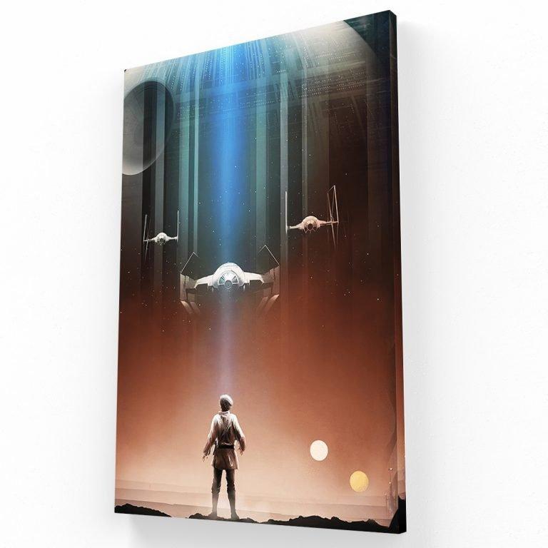 The Force II Canvas V Krea Canvas - Cuadros Decorativos Para Salas