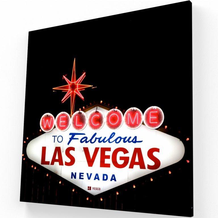 Viva Las Vegas Canvas C Krea Canvas - Cuadros Decorativos Para Salas