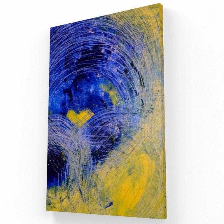 Abstracto Canvas 3 Krea Canvas - Cuadros Decorativos Para Salas