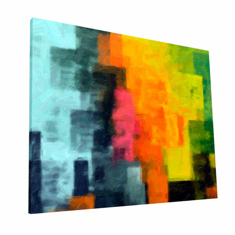 Cubismo Canvas Krea Canvas - Cuadros Decorativos Para Salas