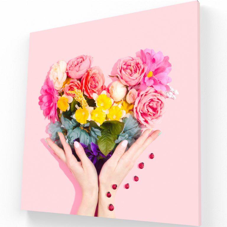 Flores Canvas 1 Krea Canvas - Cuadros Decorativos Para Salas