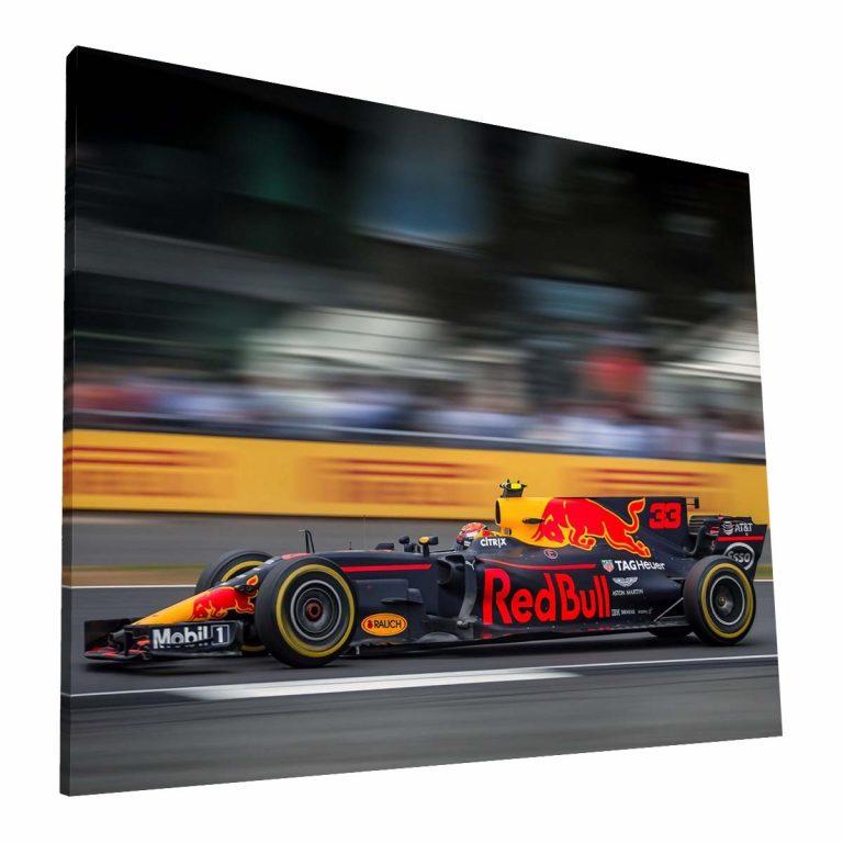 Max Verstappen, Red Bull - Canvas