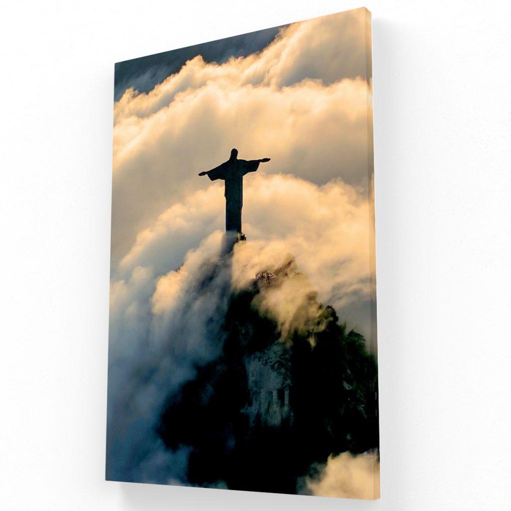 Cristo Canvas Krea Canvas - Cuadros Decorativos Para Salas