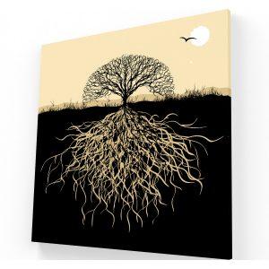 arbol canvas Krea Canvas - Cuadros Decorativos Para Salas