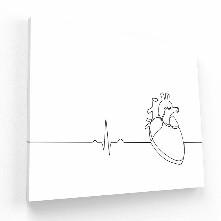 heart canvas Krea Canvas - Cuadros Decorativos Para Salas