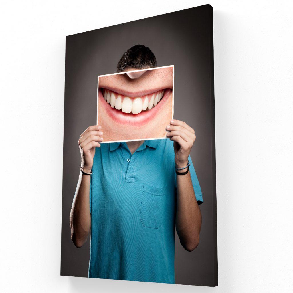 sonrisa2 canvas Krea Canvas - Cuadros Decorativos Para Salas